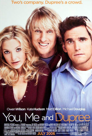 You, Me And Dupree (2006) Main Poster
