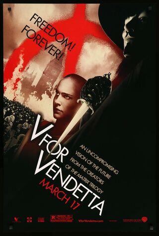 V For Vendetta (2006) Main Poster