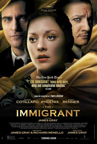 The Immigrant (2014) Main Poster