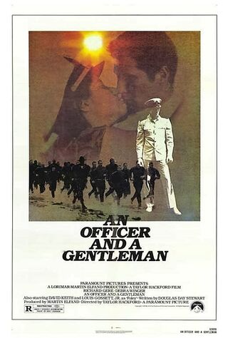 An Officer And A Gentleman (1982) Main Poster