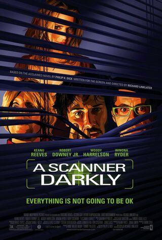 A Scanner Darkly (2006) Main Poster