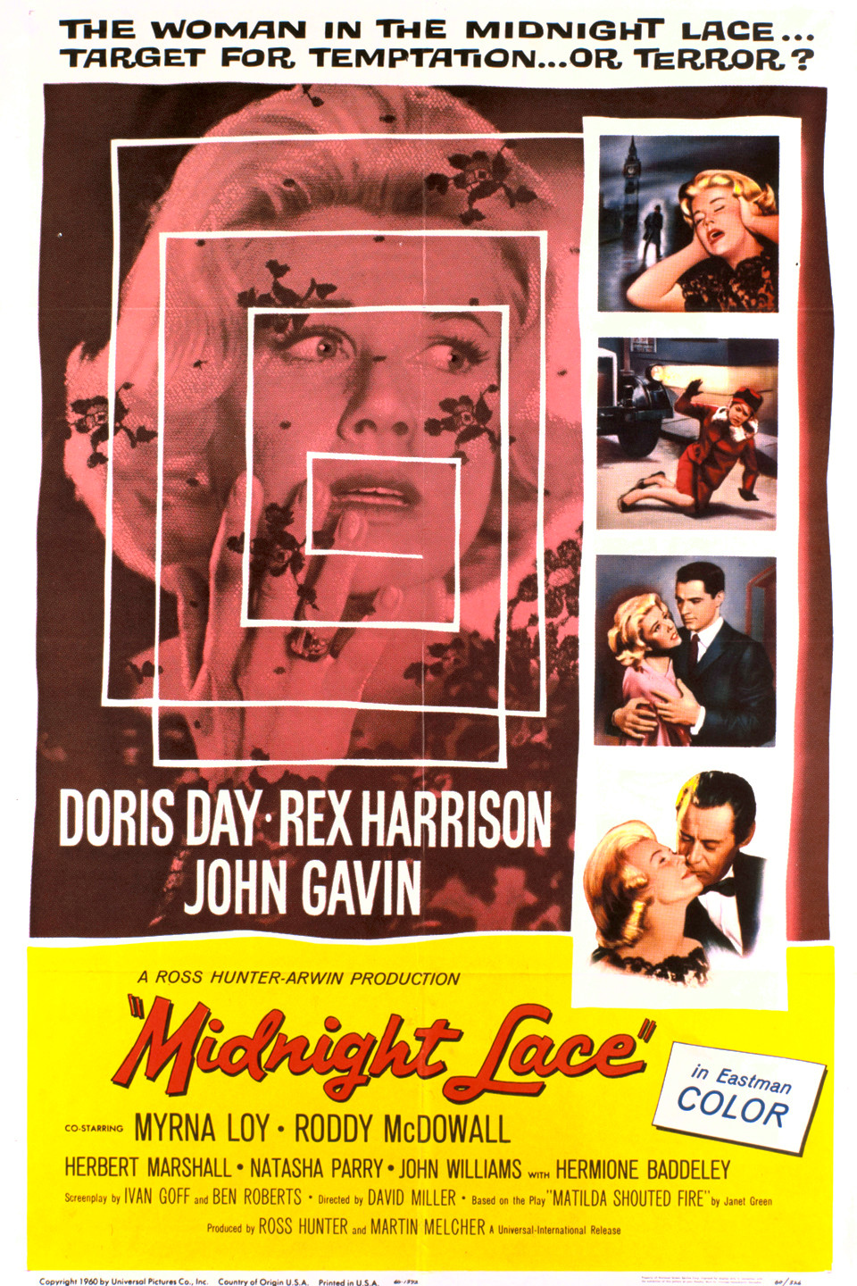 Midnight Lace (1960) Main Poster