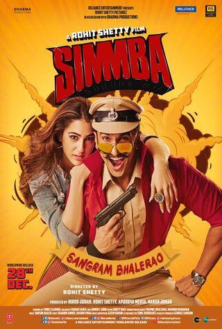 Simmba (2018) Main Poster