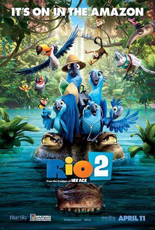 Rio 2 (2014) Main Poster