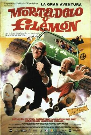 Mortadelo And Filemon: Mission - Save The Planet (2008) Main Poster