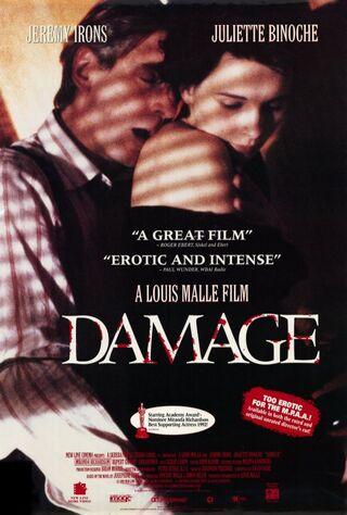 Damage (1993) Main Poster