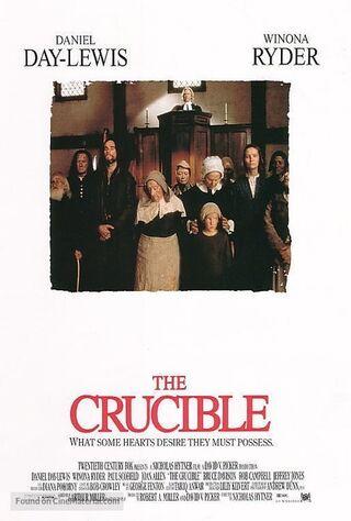 The Crucible (1996) Main Poster