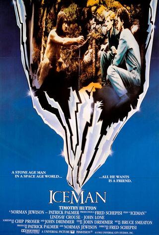 Iceman (1984) Main Poster