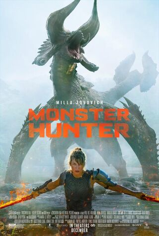 Monster Hunter (2020) Main Poster