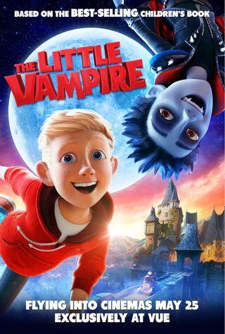 The Little Vampire 3D (2017) Main Poster