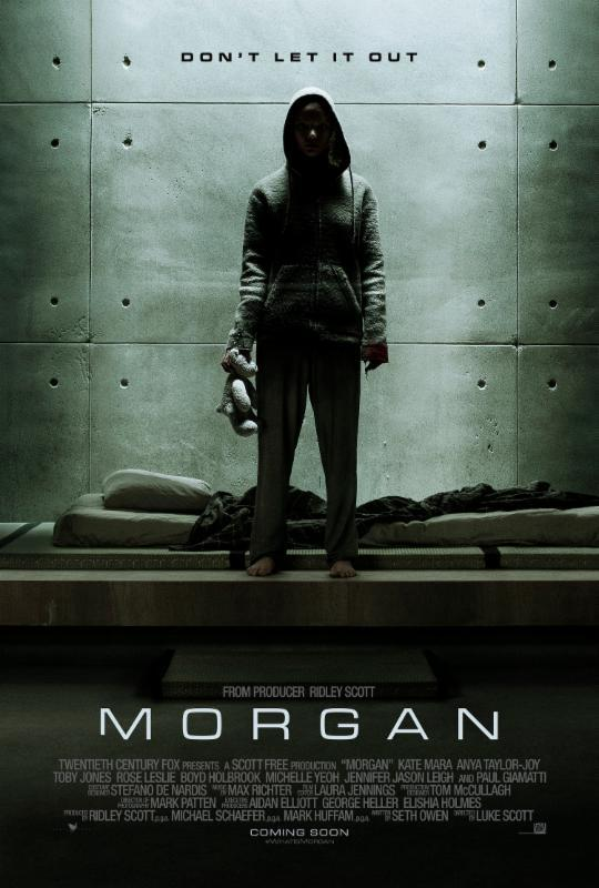 Morgan (2016) Main Poster