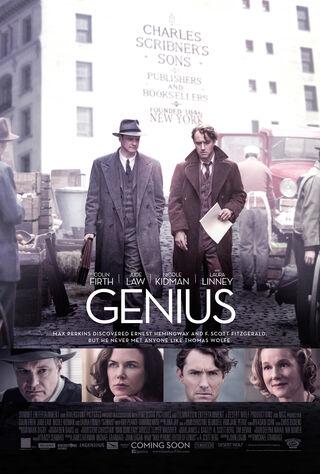 Genius (2016) Main Poster