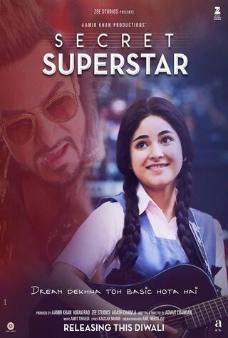 Secret Superstar (2017) Main Poster