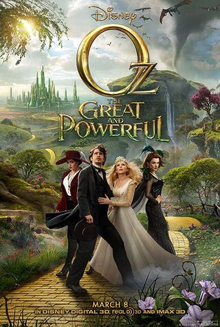 Oz the Great and Powerful (2013) Main Poster