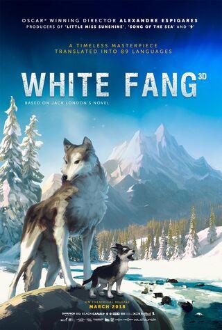 White Fang (2018) Main Poster