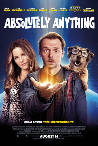 Absolutely Anything (2017) Main Poster