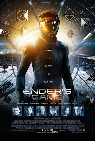 Ender's Game (2013) Main Poster