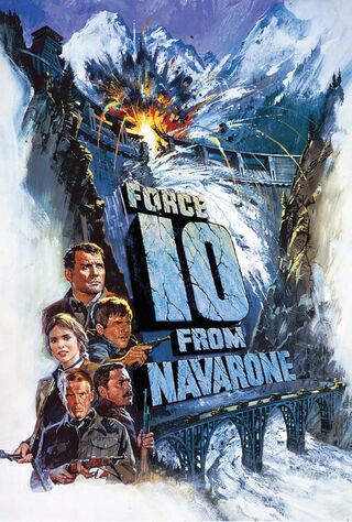 Force 10 From Navarone (1978) Main Poster