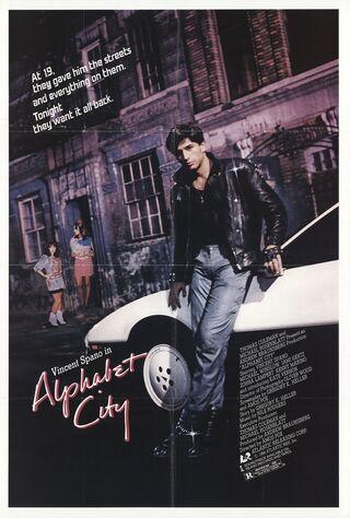 Alphabet City (1984) Main Poster