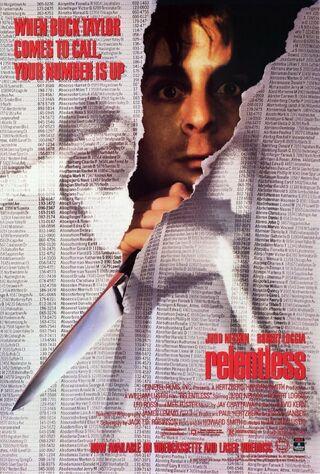 Relentless (1989) Main Poster