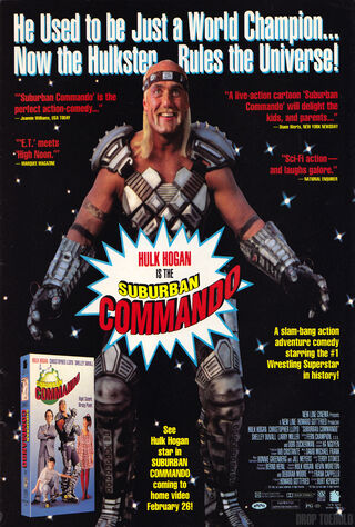 Suburban Commando (1991) Main Poster