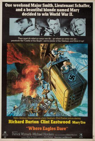Where Eagles Dare (1969) Main Poster