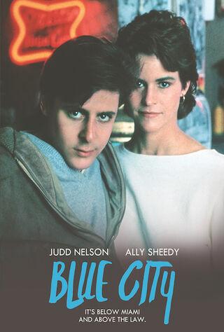 Blue City (1986) Main Poster