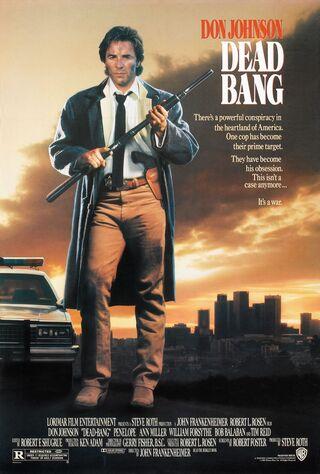 Dead Bang (1989) Main Poster