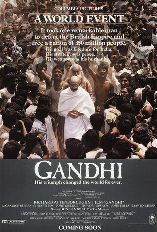 Gandhi (1983) Main Poster