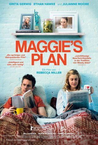 Maggie's Plan (2016) Main Poster