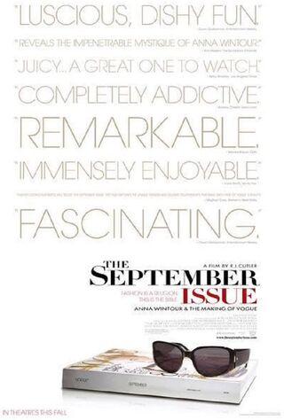 The September Issue (2009) Main Poster