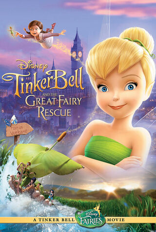 Tinker Bell And The Great Fairy Rescue (0) Main Poster