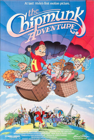 The Chipmunk Adventure (1987) Main Poster