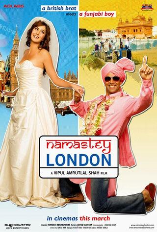 Namastey London (2007) Main Poster
