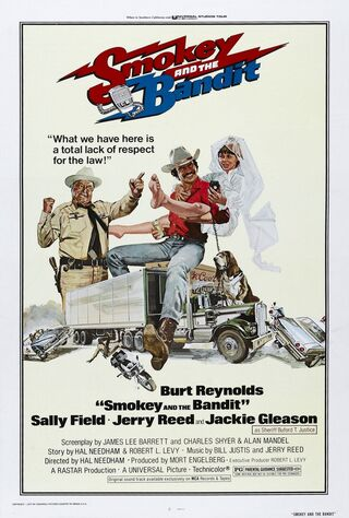 Smokey And The Bandit (1977) Main Poster