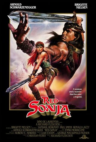 Red Sonja (1985) Main Poster