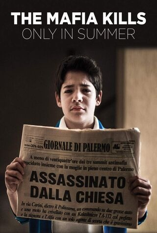 The Mafia Kills Only In Summer (2015) Main Poster