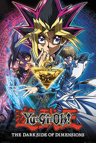 Yu-Gi-Oh!: The Dark Side Of Dimensions (2017) Main Poster