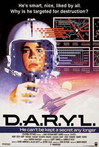 D.A.R.Y.L. (1985) Main Poster