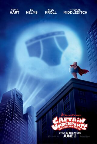 Captain Underpants: The First Epic Movie (2017) Main Poster