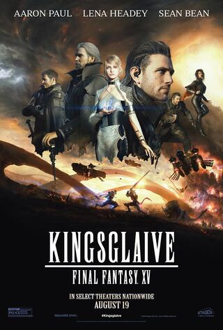 Kingsglaive: Final Fantasy XV (2016) Main Poster