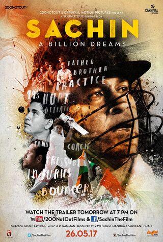 Sachin - A Billion Dreams (2017) Main Poster