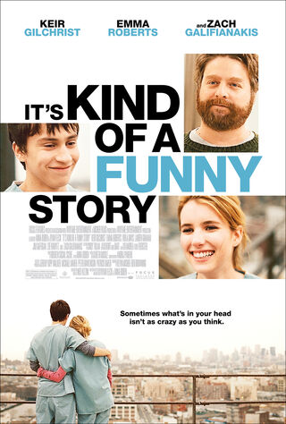 It's Kind Of A Funny Story (2010) Main Poster