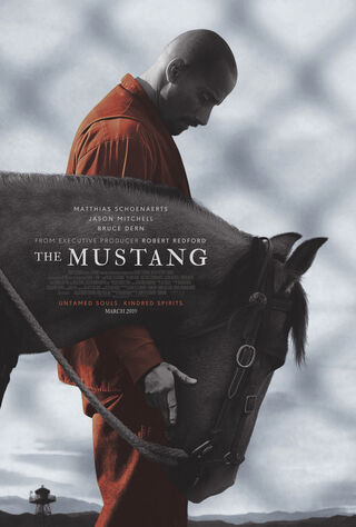 The Mustang (2019) Main Poster