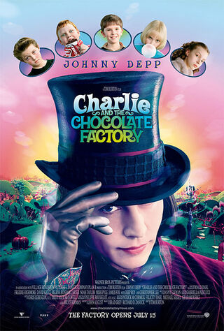 Charlie and the Chocolate Factory (2005) Main Poster