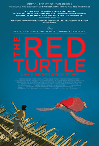 The Red Turtle (2017) Main Poster