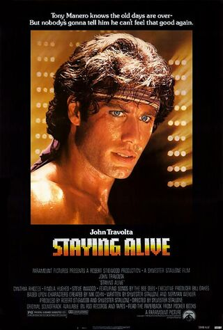 Staying Alive (1983) Main Poster