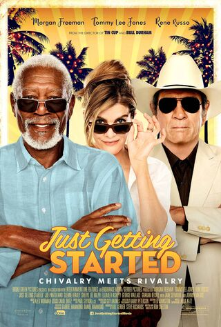 Just Getting Started (2017) Main Poster