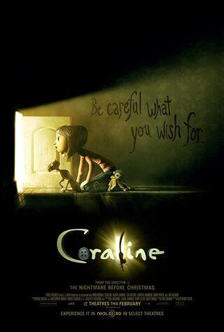Coraline (2009) Main Poster