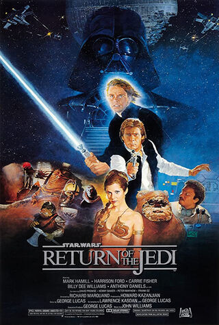 Star Wars Episode VI: Return of the Jedi (1983) Main Poster